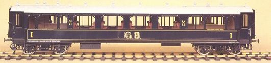J and M models Specialist Producers of brass handmade gauge one model railway carriages for the discerning collector.